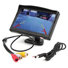 5'' TFT LCD Car Monitor Screen Display for Rear View Reverse Backup Camera Kit