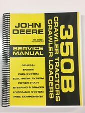 SERVICE MANUAL FOR JOHN DEERE 350B CRAWLER TRACTOR LOADER TM-1032 REPAIR MANUAL