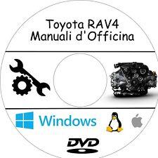 Manuali Officina TOYOTA RAV4 - Assistenza, Riparazione e Manutenzione!