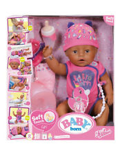 Baby Born Soft Touch Doll Brown Eyes