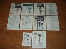 ESKA*SEARS*FORCE CHOOSE 1 FROM LIST-PARTS MANUAL 1973-1987