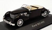 Altaya 1/43 Scale Model Car AL27121H - 1937 Cord 812 - Black