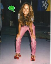 CATHERINE BACH DUKES OF HAZZARD 8x10 ROLLER SKATING 1981 F. EDWARDS RARE PHOTO