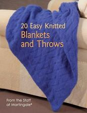 20 Easy Knitted Blankets and Throws by Martingale Staff  - FREE SHIPPING