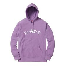Supreme 17S/S Playboy Hooded Sweatshirt Lavender Size XL 1000% Authentic in Hand