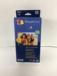 Epson Picture Mate Print Pack Inkjet Cartridge and 100 Sheets Sealed Exp. 07/11