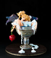 Tiki Dragon 's Crown Elf in a Cup 1/1 Anime Unpainted Figure Model Resin Kit