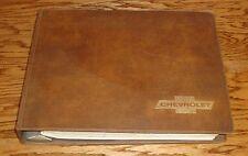 1971 Chevrolet Sales Album Dealer Presentation Book Features Colors 71 Corvette