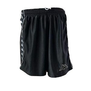 Kappa Soccer Shorts Youth Size L Soccer Shorts Black Futbol Vintage 90's