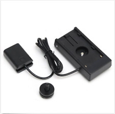 NP-F970 to NP-FW50 Dummy Battery Adapter Mount Plate for Sony A7 A7R II A6500 US