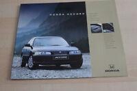 123219) Honda Accord - Farben & Austattung & tech. Daten - Prospekt 05/1995