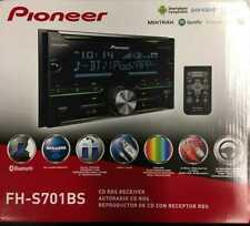 Pioneer FH-S701BS CD RDS Double Din Receiver, Bluetooth,Sirius XM Ready, USB/AUX