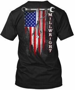 Easy-care Proud Millwright - Gildan Tee T-Shirt Cotton Crew neck short sleeve