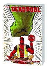 DEADPOOL VOL #8 TPB OPERATION ANNIHILATION Marvel Comics Daniel Way HULK TP NEW