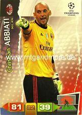 Adrenalyn XL Champions League 11/12 - Christian Abbiati