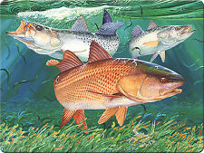 52d43f1772d4 Guy Harvey Redfish Tempered Glass Cutting Board