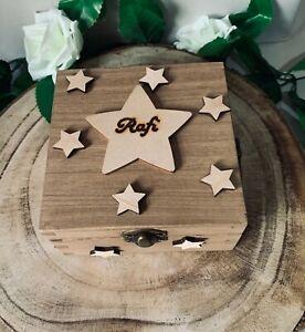 Personalised Gift Box Memories Keepsakes Stars Star Name Galaxy Valentines Gift