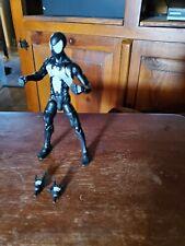 marvel legends black suit spiderman