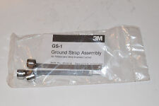 """NOS 3M GS-1 Ground Strap Assembly 4.75"""" x 0.31"""" Box of 9 Pieces  80-6101-2605-6"""