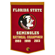 NCAA College Florida State Seminoles banderín pennant Banner fsu nationalchampions