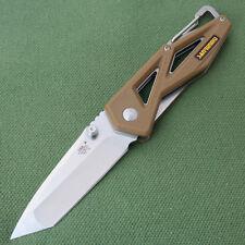 Sanrenmu 7049LTX-PO Taschenmesser Jagdmesser Einhandmesser Tanto Klinge Messer
