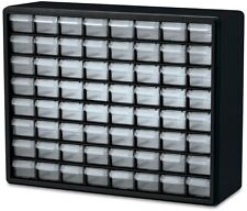 Akro-Mils 64-Compartment Small Parts Organizer Cabinet Tool Storage Plastic New