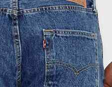 New Levi's Levis Mens Original 501 0193 Button Fly Straight Denim Jeans 34 X 32
