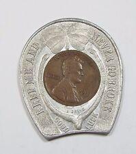 1911 Encased Cent Niagara Falls, Ny Souvenir Pocket Piece