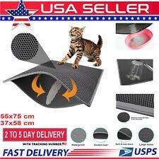 Hot Cat Litter mat Large Kitty Litter Box Trapping Sifting Mats Waterproof Urine