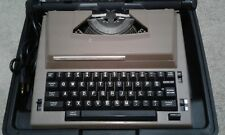 Vintage Sears Electric Typewriter The Graduate W/ Correction in Case & Working
