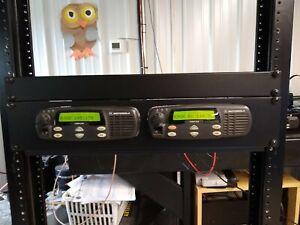2 Meter Motorola CDM Ham Repeater with Allstar controller