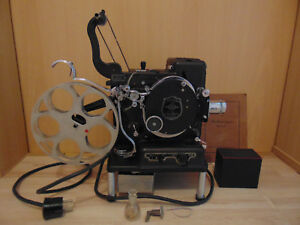 Kodascope Kodak Model B 16mm Vintage Projector mit Kofer,Bedienungsanleitung