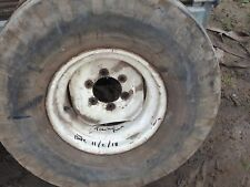 tractor front  wheel 12.5 /80 x15 used 6 stud