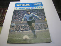 1974 Coventry vs Manchester United Football Programme