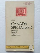 1978 Canada Specialized Postage Stamp Catalogue