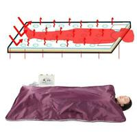 Far Infrared Sauna Blanket 2 Zone Slimming Weight Digital Controller Spa Beauty