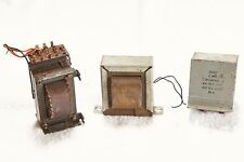 Vintage VALVE/TUBE Audio Radio Amplificateur/Transformateur/STARTER/Condensateur.