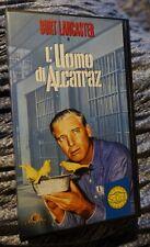 L' UOMO DI ALCATRAZ    VHS ORIGINALE 1962 -GLI SCUDI- con BURT LANCASTER