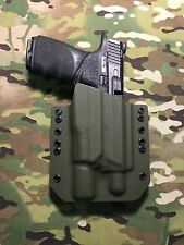 OD Green Kydex Holster M&P 2.0 Full Size 9/40 Threaded Barrel Surefire X300 U-A