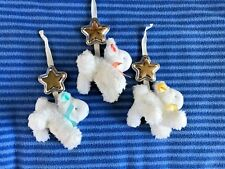 Fisher Price My Little Lamb Platinum Swing Mobile Hanging Lambs Replacement Part