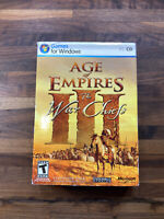 Age Of Empires 3 III The War Chiefs Expansion PC Windows With Product Key
