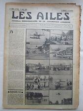 AILES 1935 739 BERNARD 110 MOINEAU ANT-20 GORKI GOERING LONDON POU MIGNET ARNOUX
