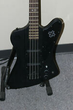 Epiphone Goth Gothic Thunderbird Black Electric Bass Guitar
