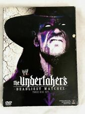THE UNDERTAKER'S DEADLIEST MATCHES WWE 1-Disc Wrestling DVD Match Collection