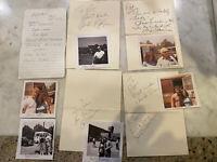 Celebrity Autograph Collection Movie Shamus Burt Reynolds John Ryan Cannon