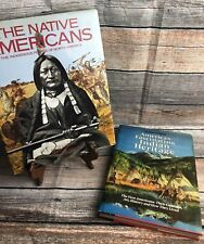 2  NORTH AMERICAN INDIAN BOOKS NATIVE INDIAN PHOTOGRAPHS