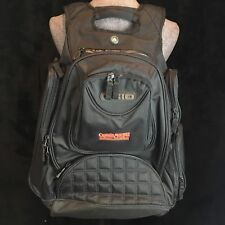 OGIO Metro Backpack Captain Morgan Spiced Rum Embroidered Logo Padded Black