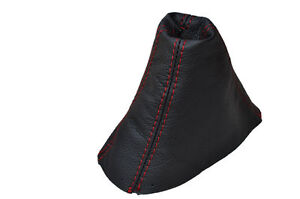 RED STITCH FITS HOLDEN MONARO 2001-2006 AUTOMATIC LEATHER GEAR BOOT