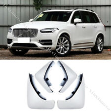 For 2015-2019 Volvo XC90 Crystal White Mud Flaps Splash Guards mudguards Fenders