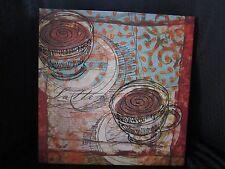 Canvas print, Coffee Cups, Modern